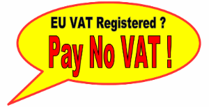 Pay no vat