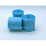 76x76mm Blue Wet Strength Laundry Paper Rolls (20 rolls)