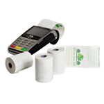 PaymentSense Ingenico iWL222 BPA Free Credit Card Rolls .. www.BPAFreeRolls.com