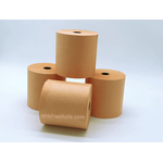 Orange Wet-Strenght Laundry Tag Rolls .. www.BPAFreeRolls.com