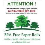 Customer message on the back of rolls ... www.BPAFreeRolls.com