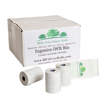 ECO_Friendly_Ingenico_iWL_Bio 0_Credit Card_Till_Rolls.png,  Recyclable_Ingenico_iWL_Bio_Credit_Card_Receipt_Rolls.png,   Recyclable_Ingenico_iWL_Bio_57mm_thermal_paper_rolls.png,  Phenol_free_Ingenico_iWL_Bio_visa_rolls.png,  BPA_Free_Ingenico_iWL_Bio_VISA_Rolls.png,  BPA_FREE_Ingenico_iWL_Bio_Terminal_PDQ_rolls_Window _Sticker.png,  What_size_roll_fits_an_Ingenico_iWL_Bio_terminal_?_This_is_size_roll_fits_perfect.png,