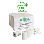 57x45mm BPA Free Credit Card Rolls (50 Roll Box)