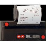 Hale TPD-01 BPA Free Taxi Receipt Rolls.  www.BPAFreeRolls.com