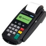 Hypercom Optimum M2100 BPA Free Credit Card Rolls.  www.BPAFreeRolls.com