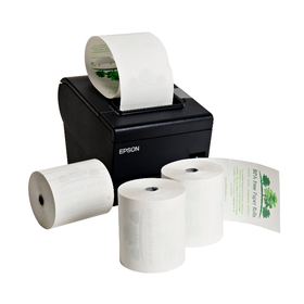 80mm BPA Free Thermal Paper Rolls (20 Roll Box)