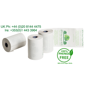 57x45mm BPA Free Credit Card PDQ Rolls (50 Roll Box)