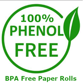 100% Phenol Free Credit Card Till Rolls... www.BPAFreeRolls.com