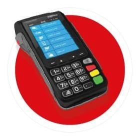 Ingenico Move 3500 Credit Card Till Rolls (50 Rolls)