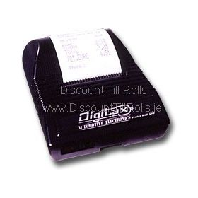 Digitax Printer Uno Taxi Receipt Rolls (40 Rolls)